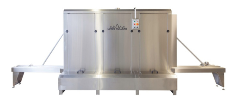 Ligne automatique de lavage et dégravage Lotus EVO COMPACT