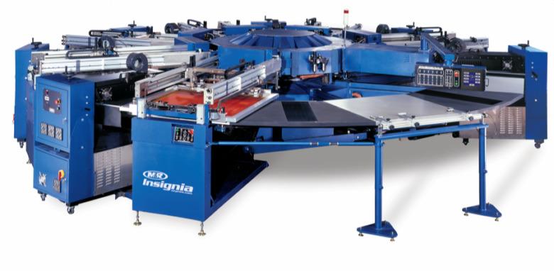Machine d'impression automatique INSIGNA UV M&R